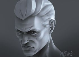 Stylized Male Sculpt by NyleLevi