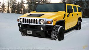 Hummer H2 by nordic-man