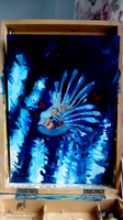 Lion fish oil painting by ThalassaNord
