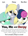 You, Me And Derpy by loomx