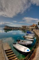 Old Harbour  Nafpaktos Greece by etsap