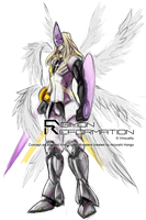 Digimon Reformation - MagnaAngemon by Vinsuality
