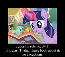 Equestria rule no. 34.T by Rayder3d
