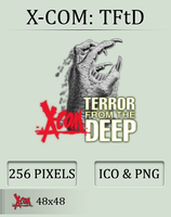 X-Com: Terror From the Deep Icon by UltimateAoshi