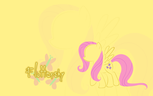 MLP: Fluttershy Wallpaper by godoflight