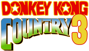 Donkey Kong Country 3 alternate logo by RingoStarr39