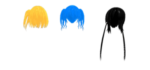 MMD-Mekaku City Actors Female Hair 3 by OnnelParamanandini39