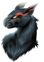 Nargacuga portrait by wildragon
