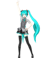PROJECT Diva Arcade Hatsune Miku by johnjan11