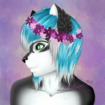 Zayne Flower Bust by Bitani49