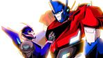 Commish-Optimus/Arcee Where Did the Road Take You? by TheSpeed0fLlight