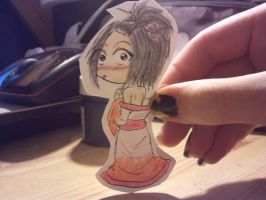 Aoi paper child by Baka-Shi-Chan
