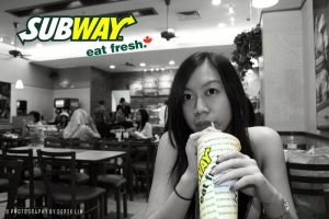 Subway Eat Fresh by derek87