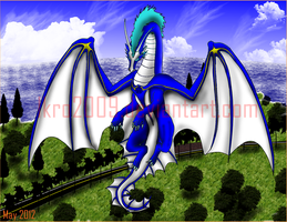 Dragon unnamed by Ikro2009