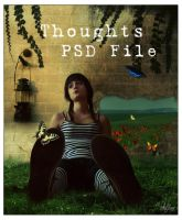 Thoughts - PSD File by melzinhabc