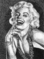 Marilyn Monroe by ratgirl84