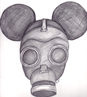 Yet another gasmask by telephonehome