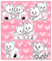 YCH Valentine Sushidogs (CLOSED) by ChuraGhost