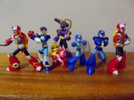 Collection: Megaman series by carlospenajr