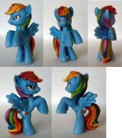 Rainbow Dash Custom Blindbag by Klaufi