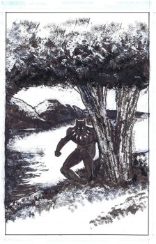 Blackpanther by CrossContour