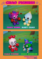 Chao Figures C by Leather-lynx