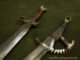 Postapocalyptic larp weapons by BloodworxSander