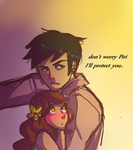 Look At Him Being Nice And Stuff by QueNoManche