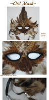 Owl Mask by Schismatic-Sha