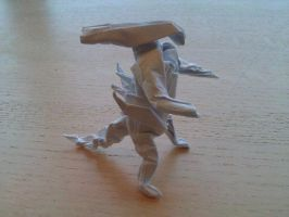 Origami Alien by taerkitty