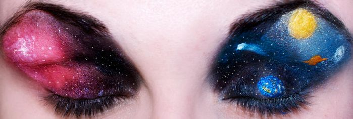 Outer Space Eyes by KatieAlves