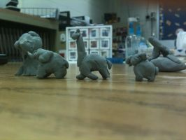 Full view of Eraser Animals by Swiftstone
