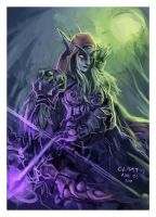 Sylvanas Windrunner by TheClintHennesy