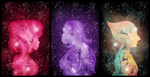Space Gems by MythicPhoenix
