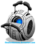 Daily 201- Wheatley by TheAlienBanana