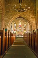 Lindisfarne Chapel by parallel-pam