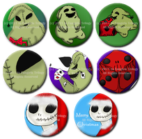 TNMBC Button Designs by DarthRegina125