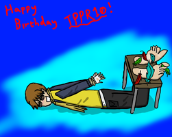 Happy birthday TPPR10! by Tickleforyou