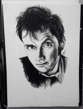 David Tennant by MatyldaSzytula