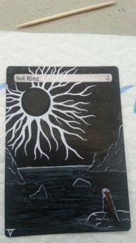 Sol Ring - Alternate Art by BlacklightOfDawn