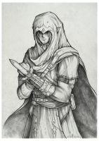 Assassin Link Sketch by EternaLegend