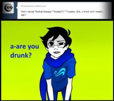 Ask John Egbert 45 by LeijonNepeta