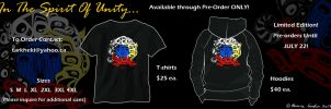 In the Spirit of Unity- Tshirt and Hoodie PreOrder by tarkheki