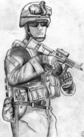 Soldier by Souptra