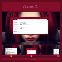 Vinous Theme For Windows 8.1 by cu88
