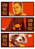 the Good the Bad and the Ugly by MateusCosme