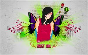 sweet Girl 2 by saifdesign