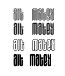 Alt Matey Typeface by andreasleonidou