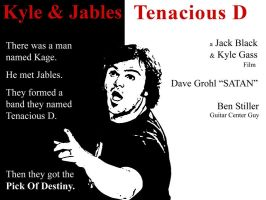 tenacious D meets Scarface by kirtschi
