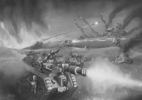 Wh40K: Lost and the Damned Armoured Fist by StugMeister